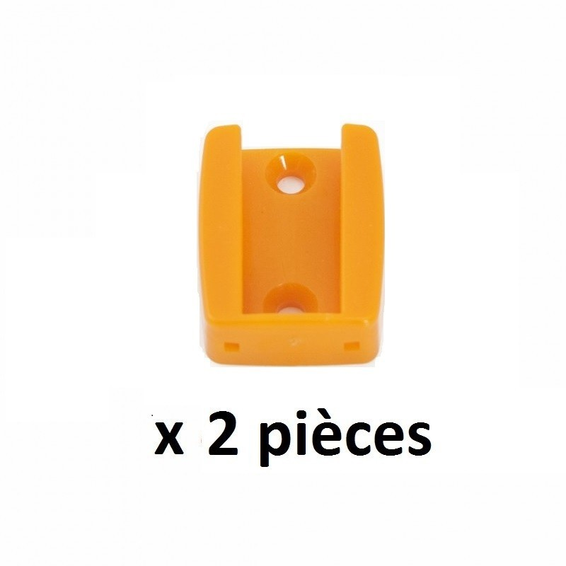 supports plastique x 2