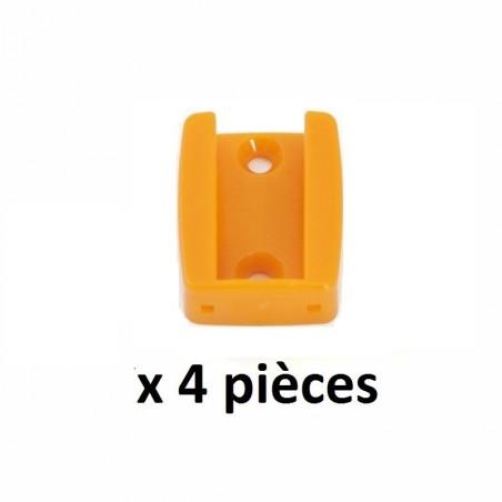 Lot de 4 Supports plastique pour ejecteurs